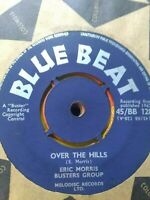 "Eric Morris,Busters Group-Over The Hills/Lazy Woman 7"" Vinyl Single UK SKA 1962"