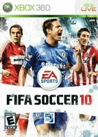 Fifa Soccer 10 Microsoft Xbox 360 Game Authentic