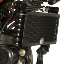 Ducati Hypermotard 1100 EVO R&G Racing Oil Cooler Guard OCG0007BK Black