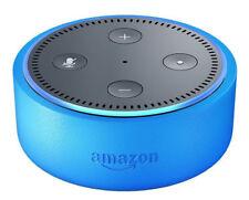 Amazon Echo Dot Kids Edition Smart Assistant, Black - Blue Case