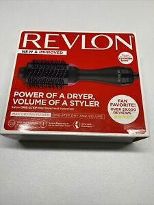 Revlon Pro Collection Salon One Step Hair Dryer & Volumizer Brush Pink New