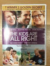 Julianne Moore Annette Bening KIDS ARE ALL RIGHT ~ 2010 Gay Parent Drama UK DVD