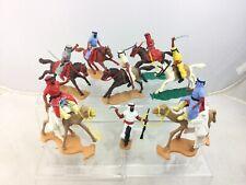 Lot 8 Timpo Toys Arab Warriors Camelback Horseback Mounted