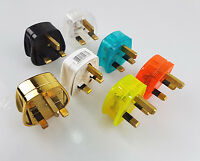 3pin Uk Plug Mains Electrical Plug 13A Fuse fitted Plug Uk Power 500w Applicance