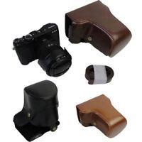 PU Leather Camera Case Cover Bag For  FUJI Fujifilm XE3 X-E3 16-50 18-55mm
