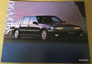 Volvo S90 & V90 1997 UK Market Sales Brochure 3.0 180 204 SE CD Executive