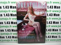 PA123F PLAQUES TOLEE vintage 20 X 30 cm : Pin'up Breathless Motorboats Yachts