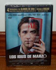 LOS IDUS DE MARZO-THE IDES OF MARCH-DVD-NUEVO-PRECINTADO-DRAMA-GEORGE CLOONEY