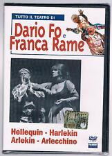 DARIO FO FRANCA RAME HELLEQUIN HARLEKIN ARLEKIN ARLECCHINO DVD FABBRI SIGILATO!!