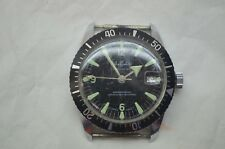 VINTAGE MENS DIVE WATCH SHEFFIELD SPORTSTER DAY WIND UP STOPS JEWELRY SWISS MADE
