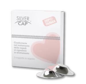 Silver Cap 2 Coppette in Argento per Ragadi al SenoDepofarma