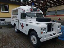 Land Rover Serie 2a Ambulace Ambulanz Krankenwagen Oldtimer Feuerwehr
