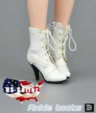 "1/6 Women Fashion Ankle Boots For 12"" Phicen Hot Toys Female Figure USA"
