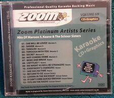 Karaoke CDG Disco Zoom Plat. Artes.ZPA69, Maroon 5/Keane/Tijera Sis, Ver Desc 15 Trks