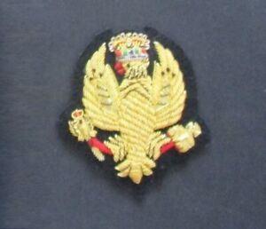 KING'S ROYAL HUSSARS blazer badge (British Army)