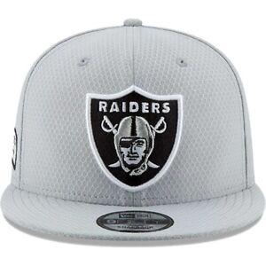 Youth Oakland / Las Vegas Raiders NFL New Era Crucial Catch 9FIFTY Snapback Cap