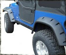 "Smittybilt 6"" Wide Fender Flare Kit 97-06 Jeep Wrangler TJ LJ 17190 Black"