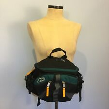 LL Bean Day Trekker Fanny Pack Waist Hip Lumbar Bag Climbing Hiking Trail Green