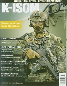 K-ISOM 6/2014 Spezialkräfte Magazin Kommando Bundeswehr Waffe Eliteeinheiten Fal