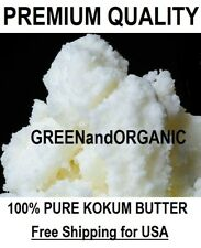Organic Premium Kokum Butter 100% Pure Cold Pressed Natural 1/2/4/5/10/16 oz Lb