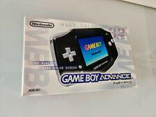 Nintendo Gameboy Advance BLACK Console Japan Sealed NEW Unopened Mint Variant!