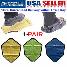 Reusable Silicone Overshoes Waterproof Shoe Boot Covers  Protector NonSlip 1pair
