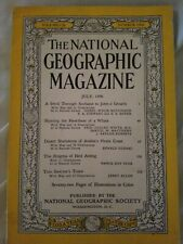 National geographic July 1956. Coca Cola Add