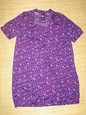Preloved Maternal Instincts polyester banded Blouson Maternity DRESS  Size 12 #E