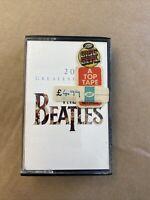 THE BEATLES 20 Greatest Hits 1982 UK Original CASSETTE TAPE