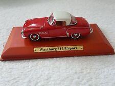 Wartburg 313/1 Sport 1:43   Atlas Verlag  DDR Auto OVP