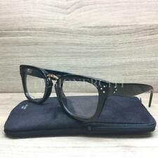 4213d9f6d914 Celine CL 41351 Eyeglasses Black Gold 807 Authentic 48mm