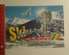 Aufkleber/Sticker: Joska Crystal Ski World Cup (130816111)