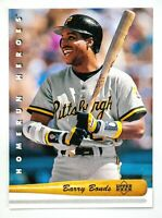 Barry Bonds #HR6 (1993 Upper Deck) Home Run Heroes, Pittsburgh Pirates