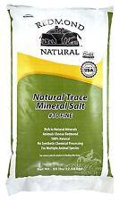 Redmond Natural Trace Mineral Salt ~ Fine ~ 50 lbs. ~ 4 Horses & More!
