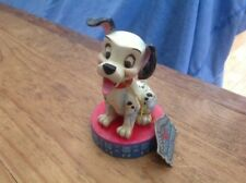 """v v rare disney tradition 'happy go lucky- 101 dalmations' 4.5"""" unboxed/tag"""