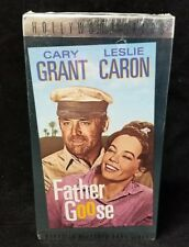 Father Goose VHS Tape Cary Grant & Leslie Caron 1964 NEW Unopened FREE SHIPPING