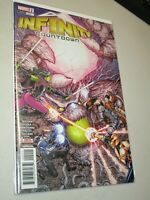 INFINITY COUNTDOWN #2 & #3 Very High Grade Thanos Marvel Comic Lot