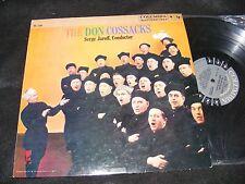 THE DON COSSACKS Russian Choir LP Columbia 6 eye Issue Serge Jaroff CONDUCTOR