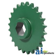 Ae54301 Sprocket; Starter Roll, 24 Tooth Fits John Deere:446,447,448,456,