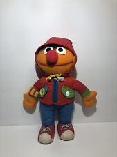 Playskool Vintage 1990 Dress Me Up Ernie Plush Doll Stuffed Sesame Street