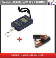 Balance digitale + piles comprises cuisine peche chasse valise