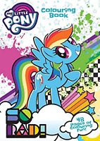 My Little Pony Colouring Book 48 Pages Childrens Activity Gift