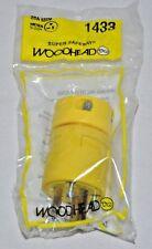 Daniel Woodhead 1433 Super Safeway Plug20A  NEMA 5-20 20A 125V