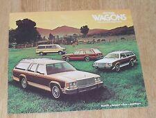 USA - Ford Wagons Brochure Ltd Fairmont Pinto Club 1979