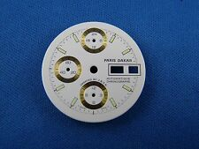 PARIS DAKAR Wrist Watch Dial Part - ETA 7750 - 30mm -Swiss Made- Automatic #262