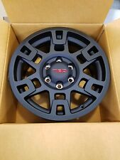 """OEM Toyota 4Runner/FJCruiser/TacomaTRD Pro 17"""" MATTE BLACK Wheels PTR20-35110-BK"""