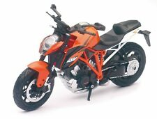 NewRay DieCast Model Motorcycle 1/12 KTM 1290 Super Duke R orange Motorbike
