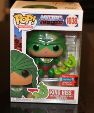 Funko Pop Masters of the Universe King Hiss 1038 NYCC 2020 Fall Convention