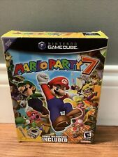 Mario Party 7 Big Box GameCube Outer Box Only with Mic - NO GAME ~ USA Seller