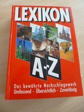 Lexikon A- Z Nachschlagewerk Umfassend  Übersichtlich Zuverlässig Buch Balzers